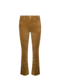 Jean flare moutarde AG Jeans