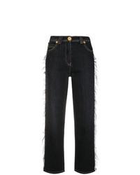 Jean flare noir Versace