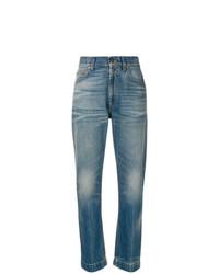 Jean imprimé bleu Gucci