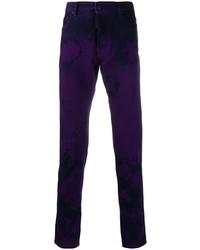 Jean imprimé tie-dye violet DSQUARED2