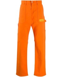 Jean orange Versace