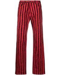 Jean rouge et noir Kenzo