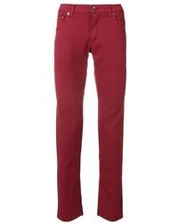 Jean rouge Dolce & Gabbana