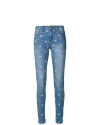 Jean skinny á pois bleu MICHAEL Michael Kors