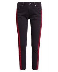 Jean skinny à rayures verticales noir Zoe Karssen