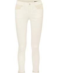 Jean skinny beige Alexander McQueen