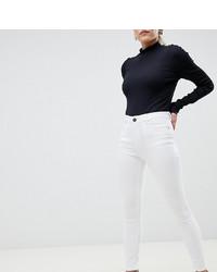 Jean skinny blanc Asos Petite