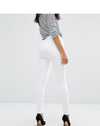 Jean skinny blanc Asos Tall