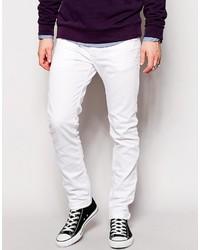 Jean skinny blanc Diesel