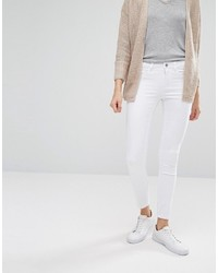 Jean skinny blanc Only