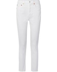 Jean skinny blanc RE/DONE