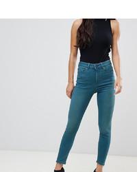 Jean skinny bleu canard Asos Petite