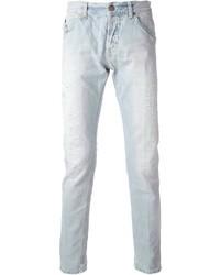 Jean skinny bleu clair