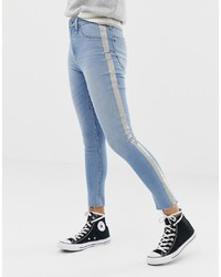 Jean skinny bleu clair Abercrombie & Fitch