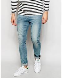 Jean skinny bleu clair Asos
