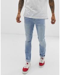 Jean skinny bleu clair Burton Menswear