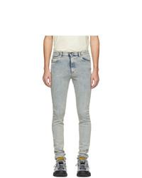 Jean skinny bleu clair Gucci