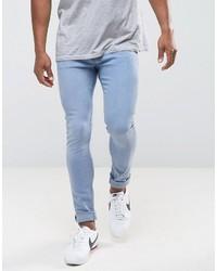 Jean skinny bleu clair Mango