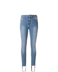 Jean skinny bleu clair MSGM