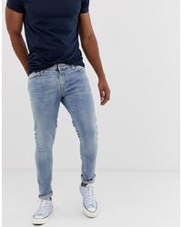 Jean skinny bleu clair Nudie Jeans