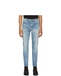 Jean skinny bleu clair Saint Laurent