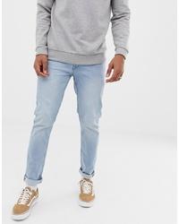 Jean skinny bleu clair Solid