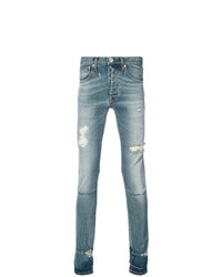 Jean skinny bleu clair Unravel Project