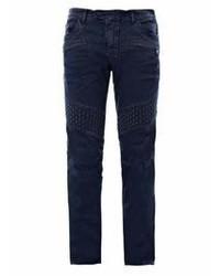 Jean skinny bleu marine