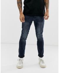 Jean skinny bleu marine Burton Menswear