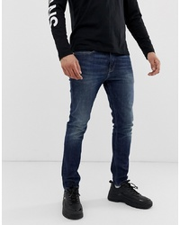Jean skinny bleu marine Calvin Klein