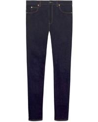 Jean skinny bleu marine Gucci