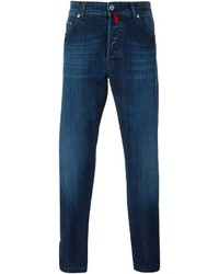 Jean skinny bleu marine Kiton