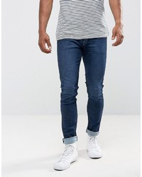 Jean skinny bleu marine Mango