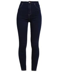 Jean skinny bleu marine Missguided