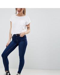 Jean skinny bleu marine New Look Petite