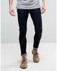 Jean skinny bleu marine Nudie Jeans