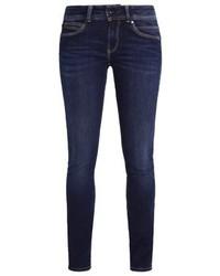 Jean skinny bleu marine Pepe Jeans