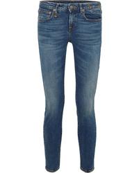 Jean skinny bleu marine R13