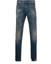 Jean skinny bleu marine Saint Laurent
