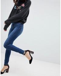 Jean skinny bleu marine Vero Moda