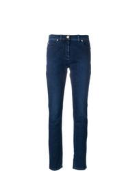 Jean skinny bleu marine Versace