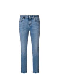 Jean skinny bleu Alexander McQueen