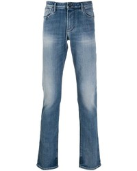Jean skinny bleu Emporio Armani
