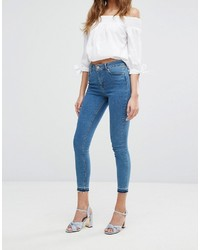 Jean skinny bleu Miss Selfridge