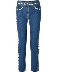 Jean skinny bleu Moschino