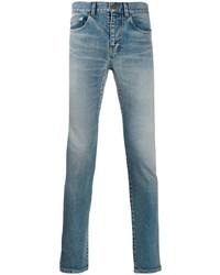 Jean skinny bleu Saint Laurent