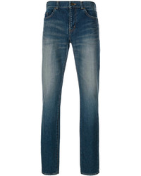 Jean skinny bleu Saint Laurent