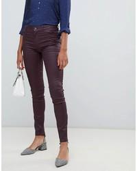Jean skinny bordeaux Esprit