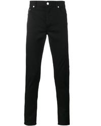 Jean skinny brodé noir Givenchy