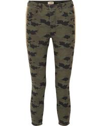 Jean skinny camouflage olive L'Agence